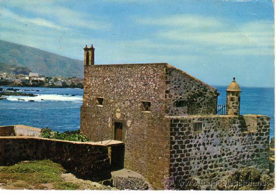 N 9624 puerto de la cruz tenerife castillo san comprar postales de canarias en todocoleccion - Hotel san felipe tenerife puerto de la cruz ...
