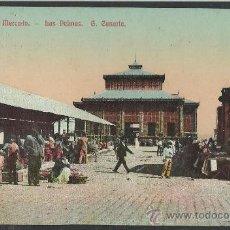 Postales: GRAN CANARIA - LAS PALMAS - PLAZA DEL MERCADO - (8800). Lote 30210078