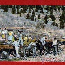 Postales: ANTIGUA POSTAL DE FUENTE-BALNEARIO DE TENERIFE - FRANQUEADA Y ESCRITA - AÑO 1909.. Lote 30286763