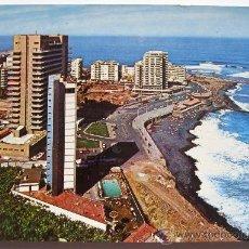 Postales: ANTIGUA POSTAL DE TENERIFE - PUERTO DE LA CRUZ - PLAYA. AVDA MARTINEZ Y HOTELES - ED. RO - Nº 396. Lote 30389972