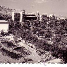 Postales: CANARIAS - LAS PALMAS DE GRAN CANARIA - ACUARIUM Y HOTEL SANTA CATALINA. Lote 30504556