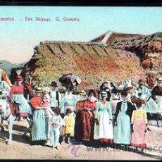 Postales: TARJETA POSTAL DE CANARIAS - TIPOS CANARIOS. . Lote 30798342