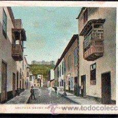 Postales: TARJETA POSTAL DE TENERIFE - ORATAVA GRAND HOTEL FROM THE PORT. 18. NOBREGA'S ENGLISH BAZAR. Lote 30798567