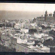Postales: TARJETA POSTAL DE GRAN CANARIA - VISTA PARCIAL. EDITORIAL FOTOGRAFICA.. Lote 30798800