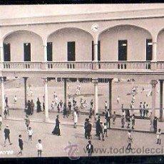 Postales: TARJETA POSTAL LAS PALMAS - COLEGIO DE SAN IGNACIO DE LOYOLA. HORA DE RECREO. FOTOGRAFIA ALEMANA. . Lote 30799620