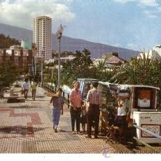Postales: TENERIFE - PUERTO DE LA CRUZ - AVENIDA DE COLON. Lote 30824803