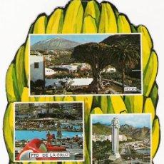 Postales: RARA POSTAL DE TENERIFE - ESCUDO DE ORO G 3. Lote 31160890