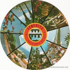 Postales: CURIOSA POSTAL DISCO - TENERIFE - EDICIONES RO Nº 4. Lote 31160992