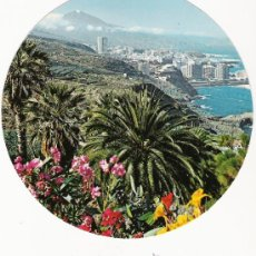 Postales: CURIOSA POSTAL DISCO - TENERIFE - EDICIONES AV TEN 5046. Lote 31161095