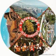Postales: CURIOSA POSTAL DISCO - TENERIFE - EDICIONES AV TEN 5919. Lote 31161125