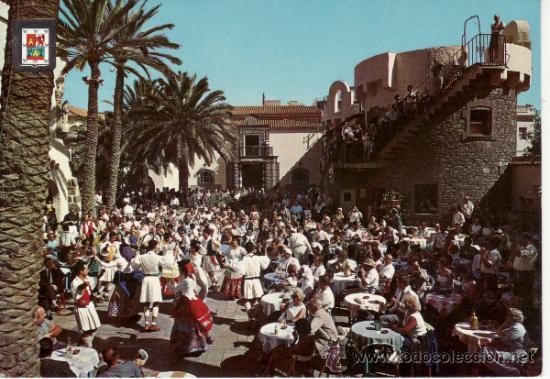 ISLAS CANARIAS. LAS PALMAS DE GRAN CANARIA. PUEBLO CANARIO. (Postales - España - Canarias Moderna (desde 1940))