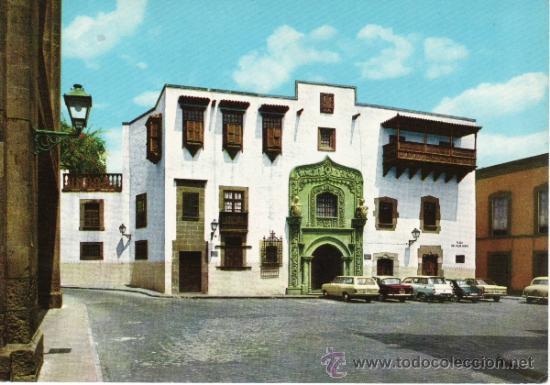 ISLAS CANARIAS. LAS PALMAS DE GRAN CANARIA. MUSEO PROVINCIAL DE BELLAS ARTES (Postales - España - Canarias Moderna (desde 1940))