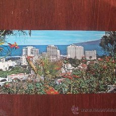 Postales: PUERTO DE LA CRUZ, TENERIFE. VISTA PARCIAL Y HOTELES. GASTEIZ N° 3555, CIRCULADA 1973. Lote 31115327