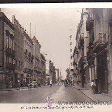 Postales: POSTAL LAS PALMAS DE GRAN CANARIA CALLE DE TRIANA. Lote 31336699
