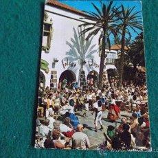 Postales: GRAN CANARIA-GC1-CIRCULADA-BAILES TIPICOS PUEBLO CANARIO. Lote 31387598