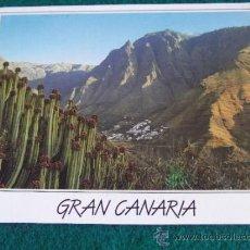 Postales: GRAN CANARIA-GC1-CIRCULADA-VALLE DE AGAETE. Lote 31387778