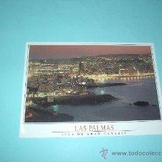 Postales: POSTAL NOCTURNA DE LAS LAS PALMAS. ISLA DE GRAN CANARIA. SIN CIRCULAR. Lote 31639019
