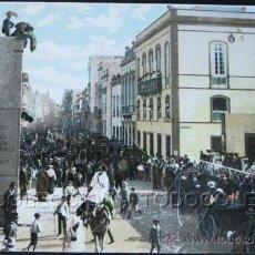 Postales: POSTAL CANARIAS LAS PALMAS CALLE TRIANA CARNAVAL - SIERRA LEONA . J. PERESTRELLO CA AÑO 1900 .. Lote 31969973
