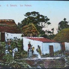 Postales: POSTAL CANARIAS LAS PALMAS LA LECHUCILLA . CA AÑO 1905 .. Lote 31970526