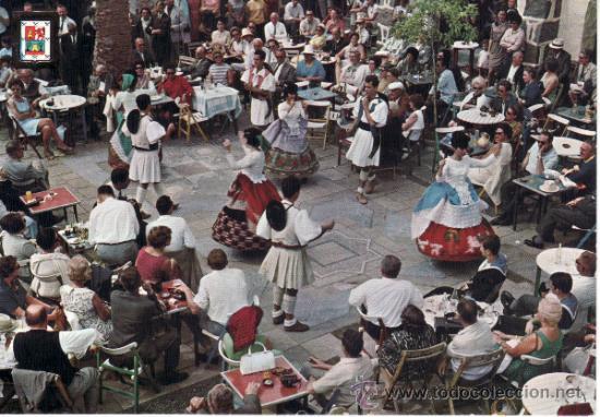 POSTALES. ISLAS CANARIAS.PUEBLO CANARIO. LAS PALMAS DE GRAN CANARIA. RASTRILLO PORTOBELLO (Postales - España - Canarias Moderna (desde 1940))