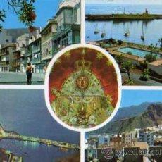 Postales: ISLA DE SAN MIGUEL DE LA PALMA Nº 150 VARIOS ASPECTOS EDICIONES RO ESCRITA CIRCULADA SELLO. Lote 31779162