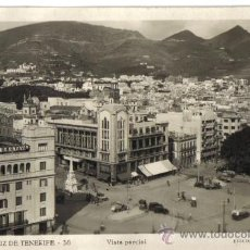 Postales: SANTA CRUZ DE TENERIFE, VISTA PARCIAL, EDICIONES ARRIBAS . Lote 31807421