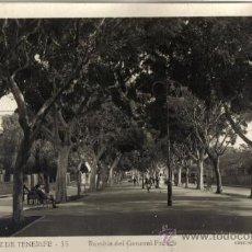 Postales: SANTA CRUZ DE TENERIFE, RAMBLA DEL GENERAL FRANCO, EDICIONES ARRIBAS . Lote 31807445