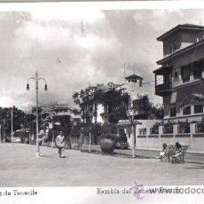 Postales: SANTA CRUZ DE TENERIFE, RAMBLA DEL GENERAL FRANCO, EDICIONES ARRIBAS . Lote 31807449