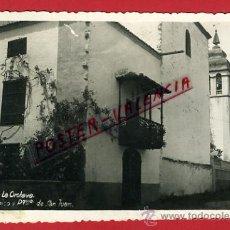 Cartoline: POSTAL, LA OROTAVA, TENERIFE, CANARIAS, BALCON TIPICO Y PQUIA DE SAN JUAN, FOTOGRAFICA, P69636. Lote 31860993