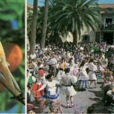 Postales: POSTALES. ISLAS CANARIAS. BAILES TIPICOS EN EL PUEBLO CANARIO. LAS PALMAS DE GRAN CANARIA. Lote 31865146