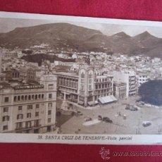 Postales: SANTA CRUZ DE TENERIFE - VISTA PARCIAL. Lote 32112227
