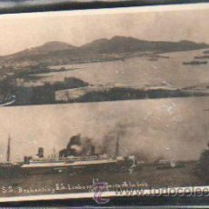 Postales: TARJETA POSTAL FOTOGRAFICA GRAN CANARIA - PUERTO DE LA LUZ. SS BRABANTIA Y SS LIMBURGIA. J.P Nº 38. Lote 31953828