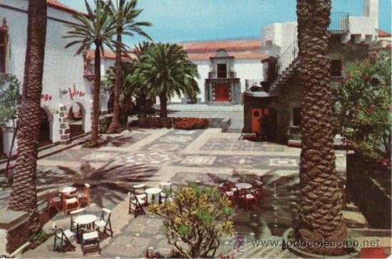 POSTALES. ISLAS CANARIAS. PUEBLO CANARIO Y MUSEO NESTOR. LAS PALMAS DE GRAN CANARIA. (Postales - España - Canarias Moderna (desde 1940))