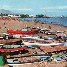 Postales: POSTALES. ISLAS CANARIAS. PLAYA DE LAS ALCARAVANERAS. LAS PALMAS GRAN CANARIA. RASTRILLO PORTOBELLO. Lote 31960468