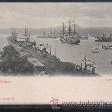 Postales: TARJETA POSTAL DE GRAN CANARIA - PORT DE LA LUZ. BAZAR ALEMAN. Lote 31964100