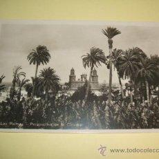 Postales: LAS PALMAS DE GRAN CANARIA PERSPECTIVA DE LA CATEDRAL. Lote 32202728