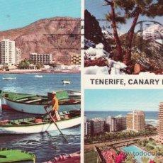 Postcards - POSTALES. TRES PAISAJES DE TENERIFE. ISLAS CANARIAS. SANTA CRUZ DE TENERIFE. RASTRILLO PORTOBELLO - 32384473