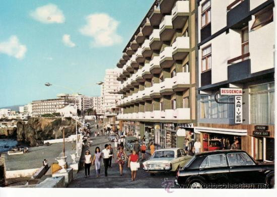 Vista del paseo de san telmo puerto de la cruz comprar postales de canarias en todocoleccion - Hotel san telmo puerto de la cruz tenerife ...