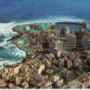 Postales: VISTA AEREA DEL PUERTO DE LA CRUZ EN EL NORTE DE SANTA CRUZ DE TENERIFE. RASTRILLO PORTOBELLO. Lote 32386699
