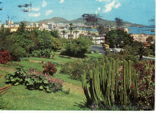 VISTA PARCIAL DE LAS PALMAS. ISLA DE GRAN CANARIA. ISLAS CANARIAS. ESPAÑA. RASTRILLO PORTOBELLO (Postales - España - Canarias Moderna (desde 1940))