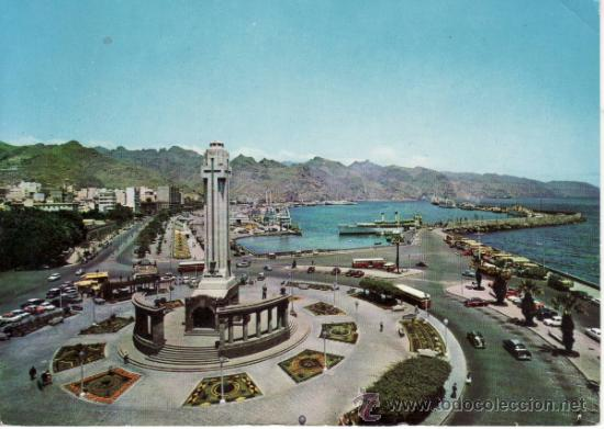 POSTALES. EL PUERTO. SANTA CRUZ DE TENERIFE. ESPAÑA. RASTRILLO PORTOBELLO (Postales - España - Canarias Moderna (desde 1940))