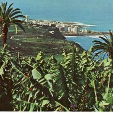 Postales: PAISAJE DEL VALLE Y PLANTACIONES DE BANANAS. TENERIFE. ISLAS CANARIAS. ESPAÑA. RASTRILLO PORTOBELLO. Lote 32561992