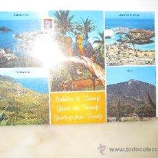 Postales: DIVERSOS ASPECTOS TENERIFE I. CANARIAS T4. Lote 32855138