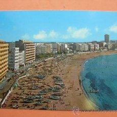 Postales: PLAYA DE LAS CANTERAS. LAS PALMAS. Lote 32933105