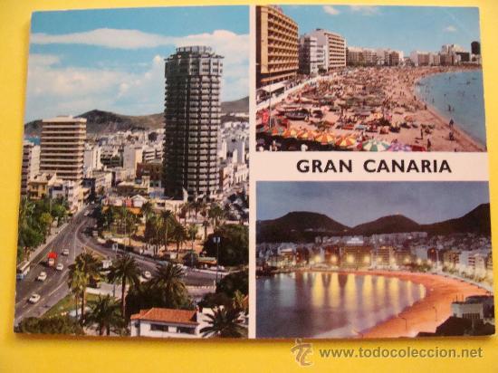 Postal de las palmas gran canaria islas canar comprar postales de canarias en todocoleccion - Isla de las palmas de gran canaria ...