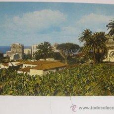 Postales: PUERTO DE LA CRUZ VISTA PARCIAL, TENERIFE (ISLAS CANARIAS) T339. Lote 33036353