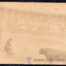 Postales: TARJETA POSTAL FOTOGRAFICA DE PLAZA DE TOROS DE TENERIFE. 1921. Lote 33441928