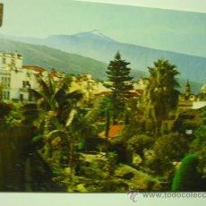 Postales: POSTAL LA OROTAVA -TENERIFE VISTA PARCIAL Y TEIDE.. Lote 33532131