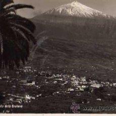 Postais: TENERIFE VALLE DE LA OROTAVA ESCRITA CIRCULADA SELLO AÑOS 40. Lote 33719642