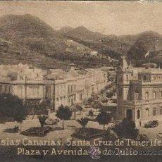 Postales: POSTAL ORIGINAL DECADA DE LOS 30. I. CANARIAS. S.CRUZ DE TENERIFE Nº 1405. VER TAMAÑO Y EXPLICACION.. Lote 33779585